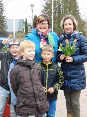 """Foto zur Meldung: """"Tulpen für Brot"""" in der Marienkäferschule Bahrdorf"""