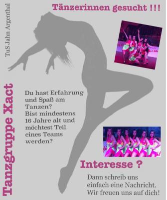 Vorschaubild zur Meldung: Tänzerinnen gesucht