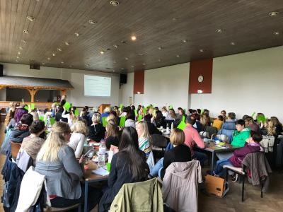 Foto zur Meldung: Gemeinsamer Studientag aller Kindertagesstätten