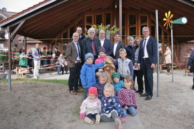 Foto zur Meldung: Einweihung Kita-Erweiterung in Grafhorst