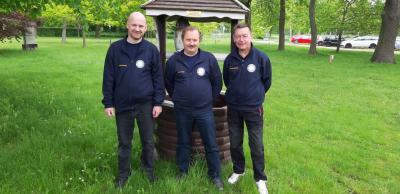 Foto zur Meldung: KSV- Schützen beim Dessauer Rathaus-Pokal erfolgreich Udo Wolf und Jens Mehre auf Siegerpodest -