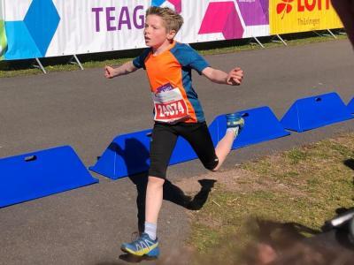 Foto zur Meldung: Rennsteig-Juniorcross