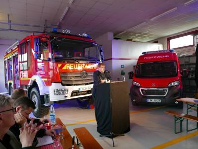 Vorschaubild zur Meldung: Freiwillige Feuerwehr Brandoberndorf erhält neue Fahrzeuge
