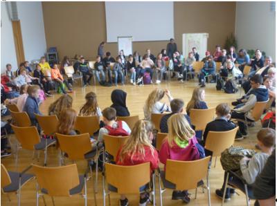 Ideenwerkstatt im Gemeindesaal