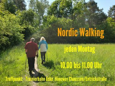 Foto zur Meldung: Nordic Walking Gruppe II