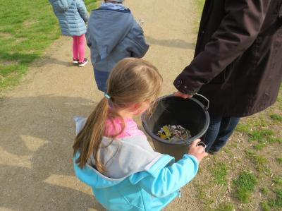 Bild der Meldung: Die Kleinsten setzen Zeichen für den Umweltschutz