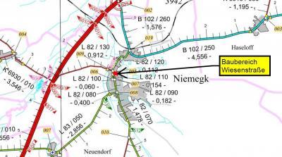 Wiesenstraße in Niemegk