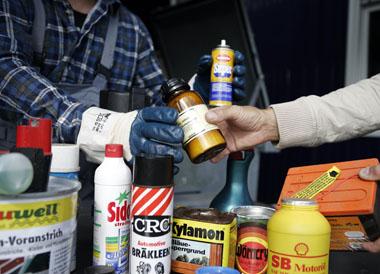 Foto zur Meldung: Schadstoffmobil hält in Schenefeld