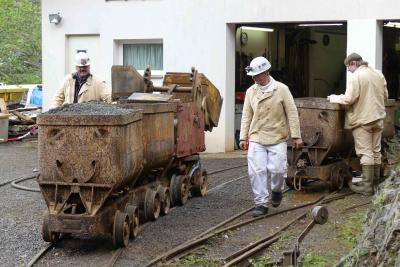 Foto zur Meldung: Erfolgreicher Tag des Museums beim Besucherbergwerk Finstergrund