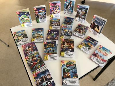 Foto zur Meldung: Spiele für Nintendo Switch! Schon ENTDECKT?
