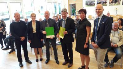 Bild der Meldung: Kooperationsvertrag Hoppegarten – Neuenhagen unterzeichnet