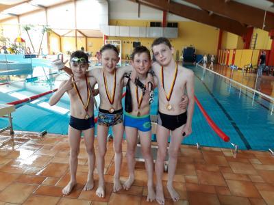 Vorschaubild zur Meldung: Erfolgreiche Schwimmer