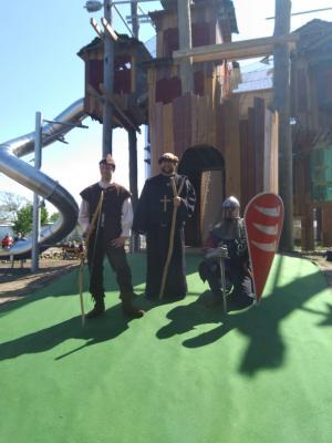 Foto zur Meldung: Eröffnung des Robin Hood Höhenlabyrinth im MitMachPark Irrlandia