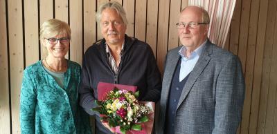 vl.Marianne Willen (Schulleiterin) Peter Blanché, Manfred Mönkehues(Vorstand Caritasverband Tecklenburger Land)
