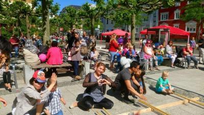 Das Kinder- und Familienfest 2017 in Wittenberge I Foto: Katrin Schmidt