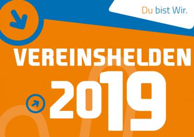 Vorschaubild zur Meldung: Start der Vereinshelden-Kampagne 2019