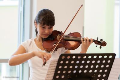 Foto zur Meldung: Musikschüler zeigen ihr Können