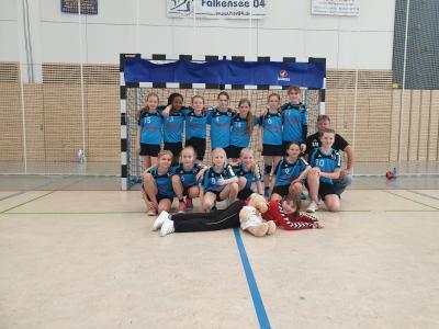 Foto zur Meldung: I. E-Jugend des HSV Falkensee mit toller Saison
