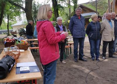 Foto zu Meldung: Spielplatz und Spielhaus am Naturlehrpfad eingeweiht