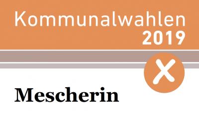 Vorschaubild zur Meldung: Kommunalwahl in Mescherin