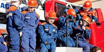 Foto zur Meldung: Lauter Jungs in der Kyritzer Jugendfeuerwehr