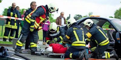 Foto zur Meldung: 23 von 24 Teams bestanden den Feuerwehr-Leistungstest