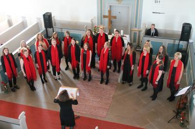 """Vorschaubild zur Meldung: Waldsolmser Frauenchor """"Get together"""" wird beim Jubiläumskonzert gefeiert"""