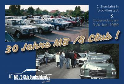 Die Clubgründung während der 2. Sternfahrt im Juni 1989