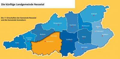 Vorschaubild zur Meldung: Wahlergebnis der Kommunalwahl im Nessetal