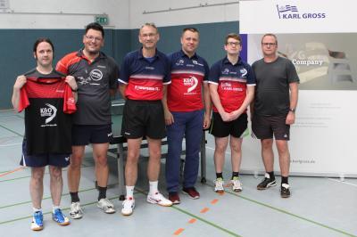 Vorschaubild zur Meldung: Tischtennis-Herren begrüßen acht Neuzugänge