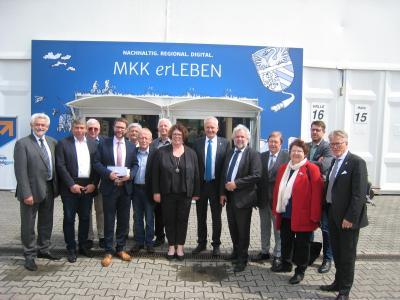 Vorschaubild zur Meldung: Messe Wächtersbach - Kreisausschuss tagt in Wächtersbach
