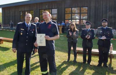 Foto zur Meldung: Gemeindefeuerwehrtag & 110-jähriges Bestehen der Freiwilligen Feuerwehr Papenbruch