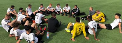 Foto zur Meldung: U19 und U17 gewinnen den Kreispokal
