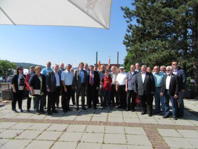 Vorschaubild zur Meldung: Europaabgeordneter Thomas Mann besucht Messe Wächtersbach