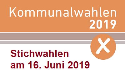 Stichwahlen am 16. Juni 2019
