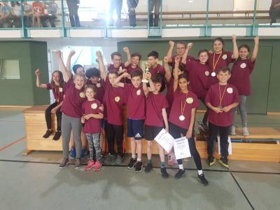 Foto zur Meldung: Unsere Schule holt den Schenkenlandpokal 2019