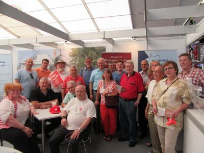 Vorschaubild zur Meldung: Wächtersbacher Sozialdemokraten zeigen sich beeindruckt von der diesjährigen Messe