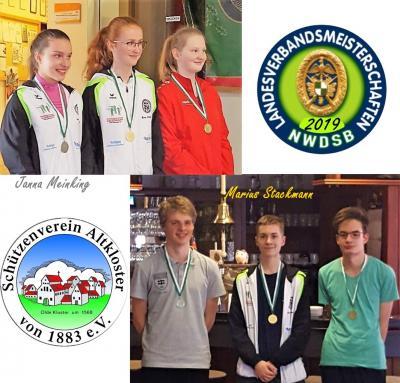 Vorschaubild zur Meldung: Erfolgreiche Landesmeisterschaften unserer Jugend 2019