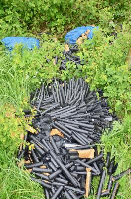 Foto zur Meldung: Zeugen gesucht! Illegale Müllentsorgung