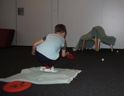 Vorschaubild zur Meldung: Neu im TV Hude: Tischtennis für Kindergartenkinder