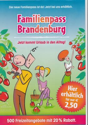 Vorschaubild zur Meldung: Familienpass Brandenburg 2019/2020