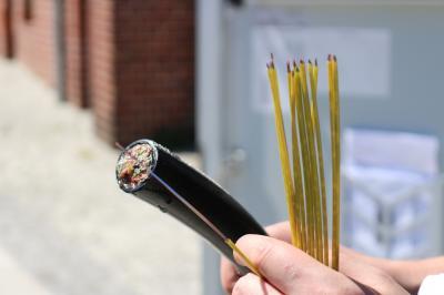 Foto zur Meldung: Telekom gibt Startschuss für schnelles Internet in Calau