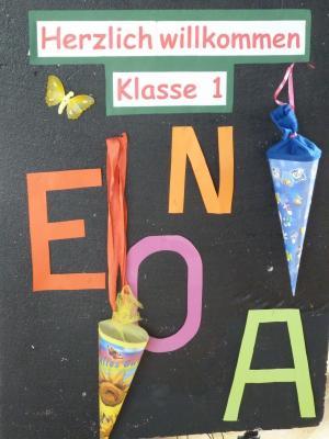Foto zur Meldung: Arbeitsmaterialien für die 1. Klasse