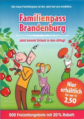 Vorschaubild zur Meldung: Der neue Familienpass Brandenburg ist da!
