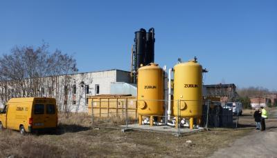 Grundwassersanierungsanlage in Neues Lager
