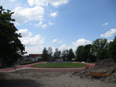 Sportplatz in Rhinow, Str. der Jugend 6