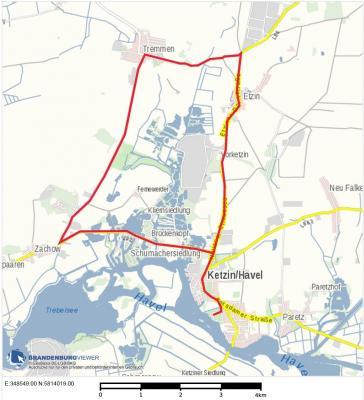 Streckensperrung Triathlon