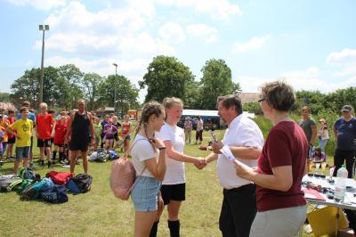 Foto zur Meldung: Viertes Fußballturnier der Freien Schulen Ostsachsens