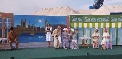 Foto zur Meldung: Jubiläumsfestspiele  – Sommertheater auf dem Salzberg mit zwei Premieren