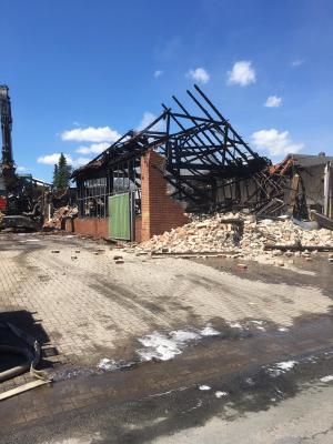 Vorschaubild zur Meldung: Großbrand in Bersenbrück